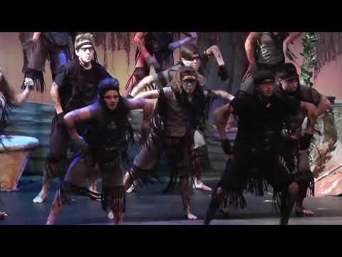 Tarzan High School Musical Production Scenes Part 1
