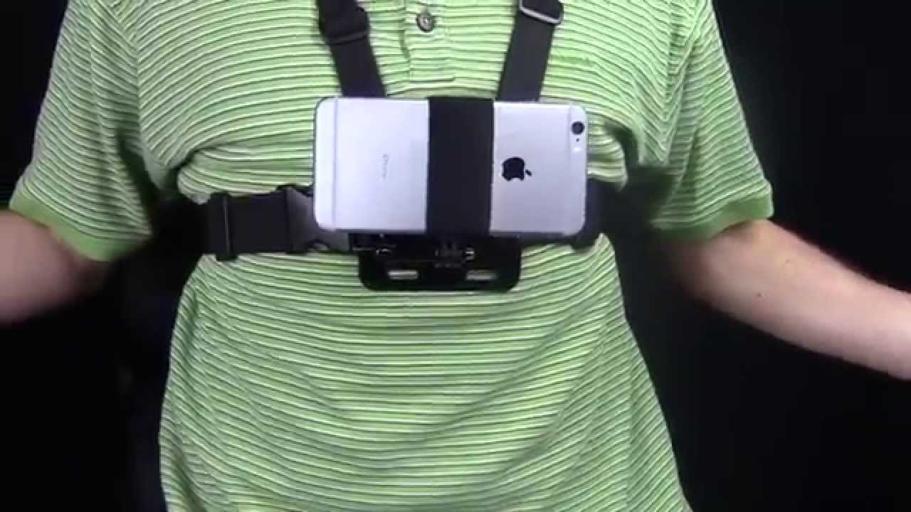 new product 14385 cdf85 Action Mount Chest Harness And Smartphone Mount Gear Review