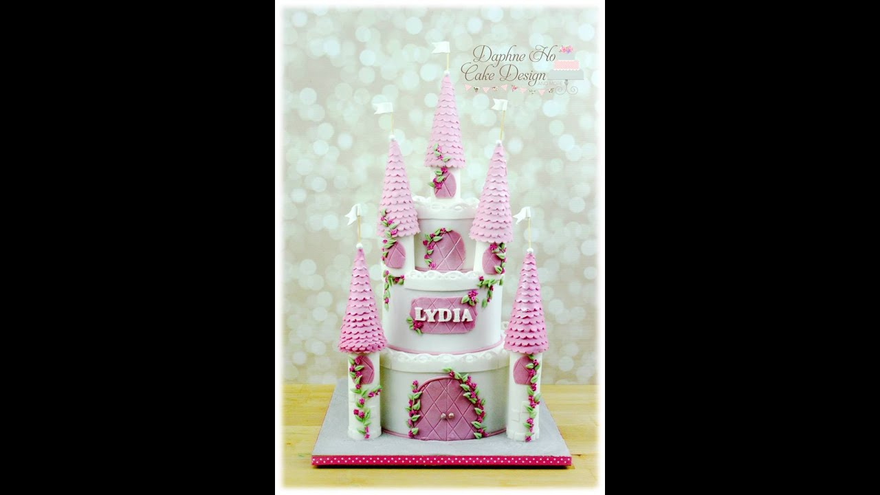 How to make castle cake towers YouTube