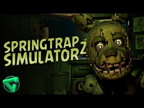 SPRINGTRAP SIMULATOR 2 - Five Nights at Freddy's Fan Game | iTownGamePlay