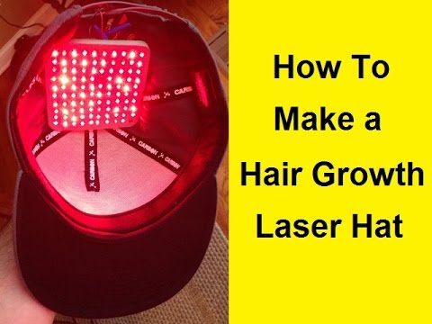 How To Make a Hair Growth Laser Hat for $60
