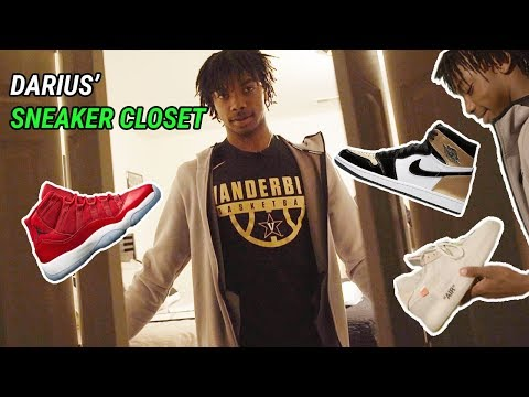 Darius Garland Has The BEST SNEAKER COLLECTION! Inside Look At His 200 SHOES 🔥