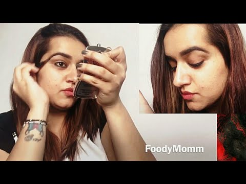 1 MINUTE EYEBROW TUTORIAL | Easy Eyebrows Tutorial for Beginners | How I Fill My Eyebrows