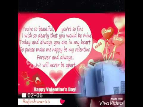 happy valentine's day special hd video rajeshwar55 hindi love song, Ideas
