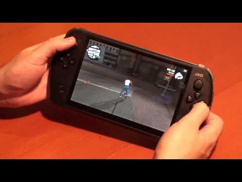 Android игры на игровой консоли JXD s7800b