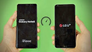 Samsung Galaxy Note 8 vs LG G6 - Speed Test! (4K)