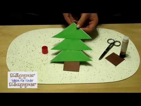 weihnachtsbasteln mit kindern wir falten einen. Black Bedroom Furniture Sets. Home Design Ideas