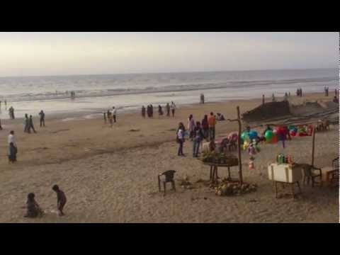 Jampore Beach Daman - Best Clean Beach at Daman Near Mumbai