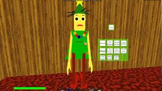 ALL CHARACTER CHRISTMAS SKINS IN 🎄 Baldi's Basics 3D Morphs Rp 🎅! | ROBLOX (HD)