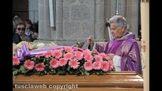 I funerali di Donatella Canensi
