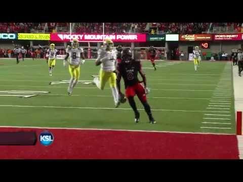 Kaelin Clay drops ball before scoring touchdown