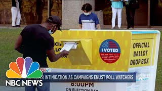 Inside Look At The Role Of Poll Watchers During An Election | NBC Nightly News