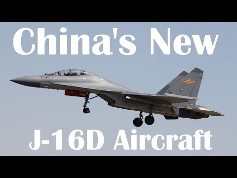 China's New J-16D Aircraft Might Have a Terrifying New Military Capability