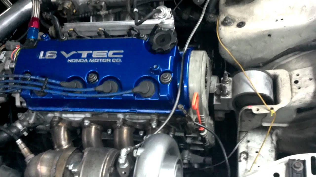 D16 Turbo Vitara Piston Eagle Rods Bullseye Turbo S256
