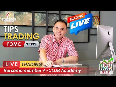 CKDF Ep21: TIPS TRADING FOMC – LIVE TRADING Rugi Belasan Ribu Dollar Akhirnya PROFIT !!