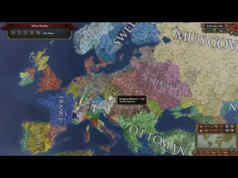 EUIV Timelapse - Prussia/Germany to 12000 Dev and change (1.22.1)