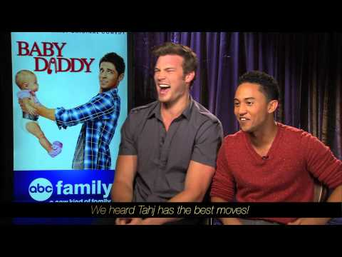 Derek Theler and Tahj Mowry - Baby Daddy - Baby Stories