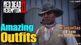 Red Dead Redemption 2 Online Amazing Outfits #5 (Cantinflas,The Navajo Warrior & More!!!)
