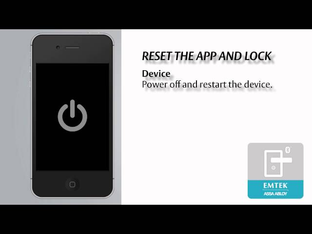 liscio resetting the app and lock