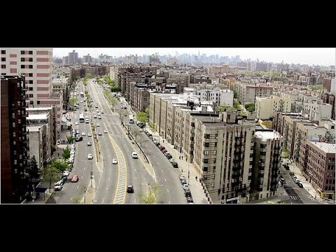 Dash Cam Video - Driving on Grand Concourse in the Bronx NYC