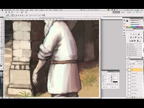 Making of interactive book animation. Part I.
