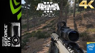 ARMA III APEX Preview Ultra Settings 4K | GTX 1080 FE | i7 5960X 4.5GHz