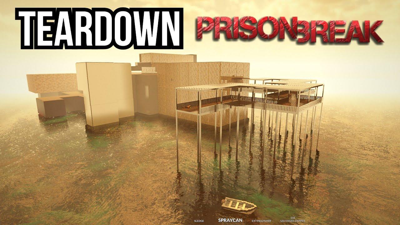 Can you Escape from The Hardest Prison - The Prison Break Mod [Teardown]