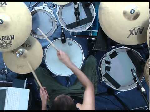 Toto Drag Him To The Roof Drum Cover Youtube