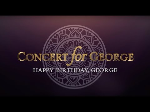George Harrison - Concert for George: Isn't It A Pity - Happy Birthday George!