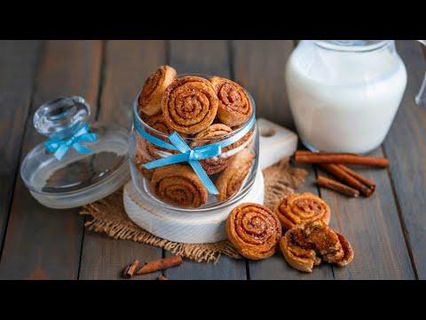 Рецепт Печенье на кефире без яиц  видео рецепт