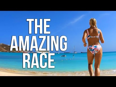 THE AMAZING RACE IN ST MAARTEN