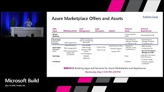 Building Solution Templates and Managed Applications for the Azure Marketplace : Build 2018