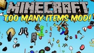 Minecraft: Mod Showcase review : Too Many Items [1.6.4]