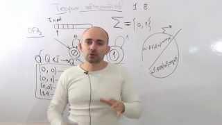 Введение в теорию автоматов и вычислений. 1.8 пример автомата. язык автомата