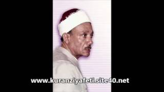 Abdulbasit Abdussamed Meryem Suresi 1957 Mısır Tilavetlerinden Orjinal