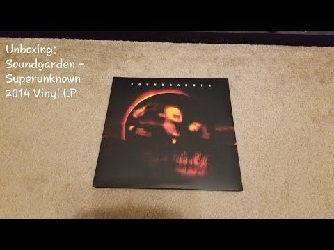 Unboxing: Soundgarden - Superunknown Vinyl 2014 Reissue (Universal Music UM A&M Records B0020476-01)