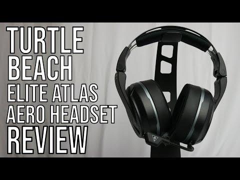 Turtle Beach® Elite Atlas Aero - Wireless PC Gaming Headset Review