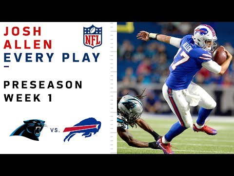 Every Josh Allen Throw & Run vs. Panthers
