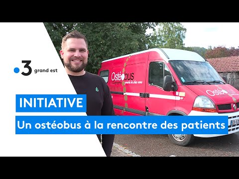 Une Initiative Unique, Un Ostéobus à La Rencontre Des Patients