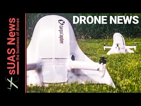 3D Printed Cargo Drones from Europe | Weekly Drone News