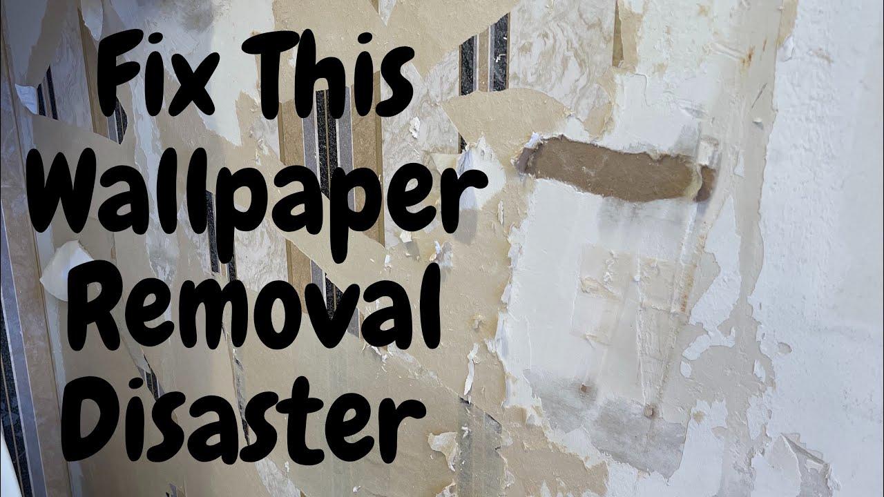 Wallpaper Disaster-From Removal to Restoration - Spencer Colgan