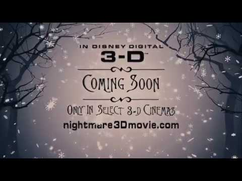 the nightmare before christmas in 3d this christmas - Nightmare Before Christmas 3d