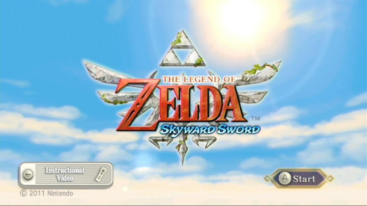 the legend of zelda skyward sword part 1 the land before time