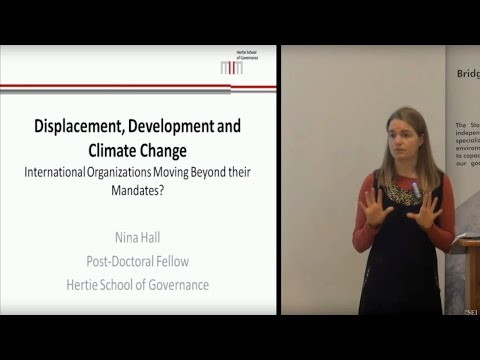 How Refugee, Migration, and Development Organizations Respond to Climate Change - with Nina Hall