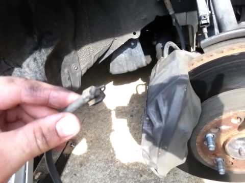 DIY repair Lexus LS400 brake wear sensor  YouTube