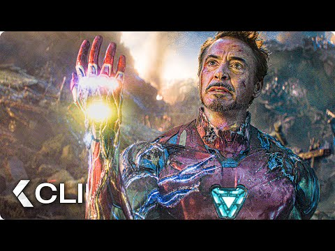 I Am Iron Man Snap Scene - AVENGERS 4: Endgame (2019)
