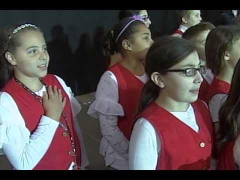 East Derry Elementary School - US Anthem - March 21, 2015