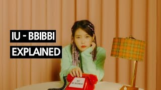 Cover images IU - BBIBBI Explained by a Korean