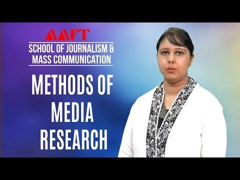Media Research | AAFT University | Mass Communication | Admissions Open | Call:18001026066
