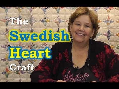 An Easy Swedish Heart Craft for Christmas!